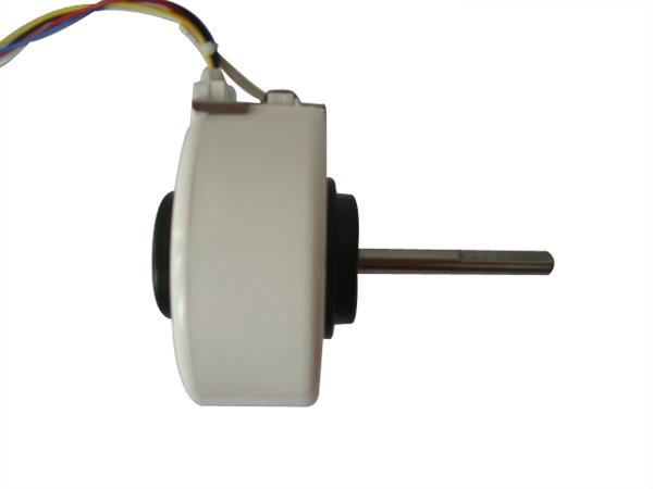 电容运转异步电动机,用于机电体积小,重量轻,震动小,低噪声的空调器
